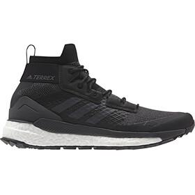 adidas TERREX Free Hiker Shoes Men core black/gresix/active orange